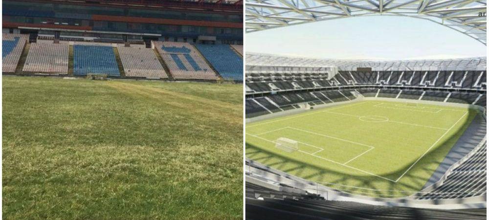 Lucrarile avanseaza si stelistii abia astepta sa joace pe noul stadion! Imagini de ULTIMA ORA din Ghencea! Cum arata acum arena
