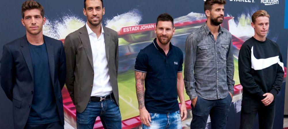 "Barcelona, TEREN MINAT! Situatia de la club e din ce in MAI TENSIONATA! Reactia unuia dintre CAPITANI la adresa unui ziarist care il apara pe Bartomeu: ""Marioneta!"""
