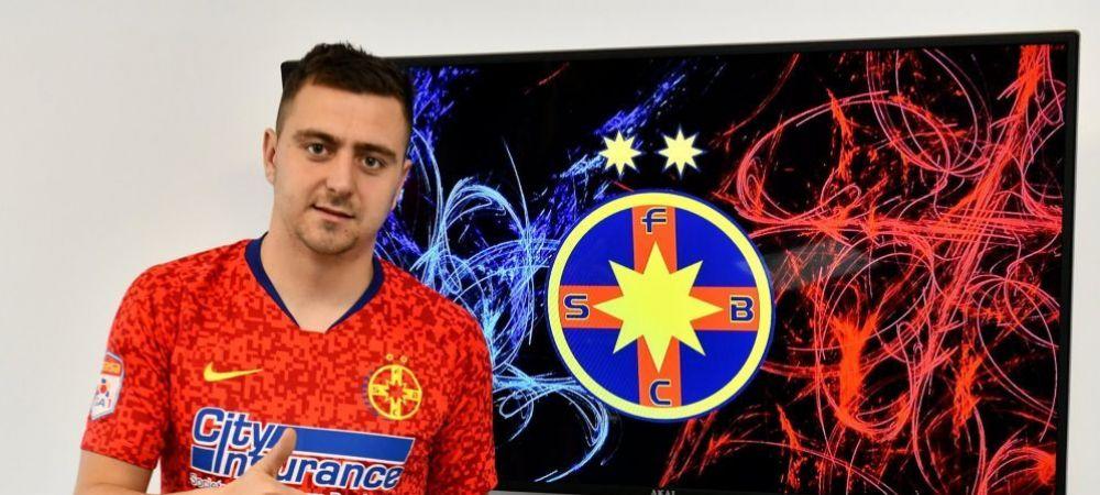 BREAKING NEWS | FCSB l-a prezentat oficial pe Miron! Prima reactie a jucatorului dupa ce a semnat contractul
