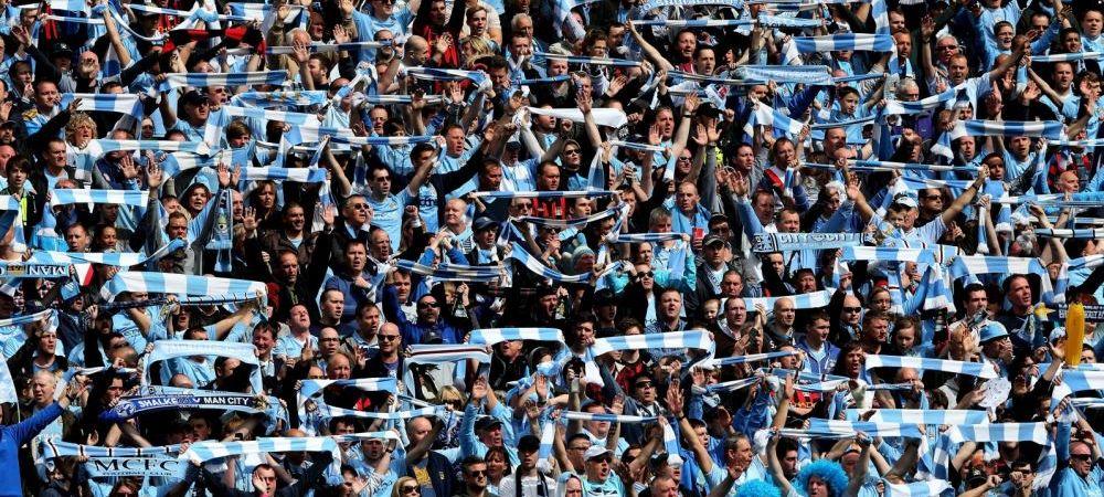 Reactia suporterilor lui City dupa decizia UEFA! Ce au facut in timpul meciului cu West Ham