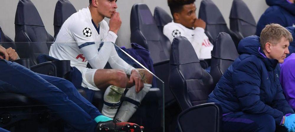 Dele Alli a iesit FURIOS de pe teren in meciul cu Leipzig! Raspunsul SPUMOS al lui Mourinho cand a fost intrebat de reactia jucatorului
