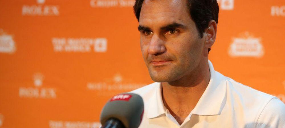 """Anunt cutremurator facut de Federer: """"Nu prea imi e dor de tenis, nu ma mai antrenez, pentru ca nu vad rostul!"""""""