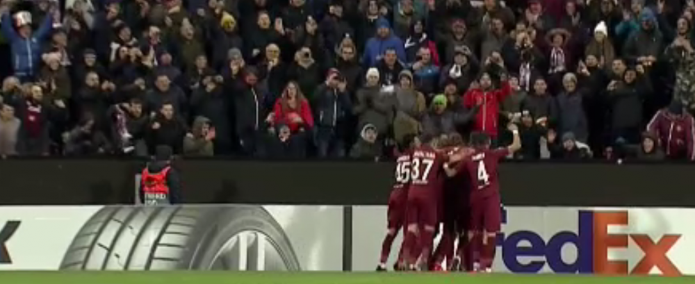 CFR CLUJ - SEVILLA 1-1 | CFR a marcat prin Deac din penalty! Sevilla a egalat la primul sut pe poarta din repriza a doua prin En-Nesyri! AICI TOT CE S-A INTAMPLAT