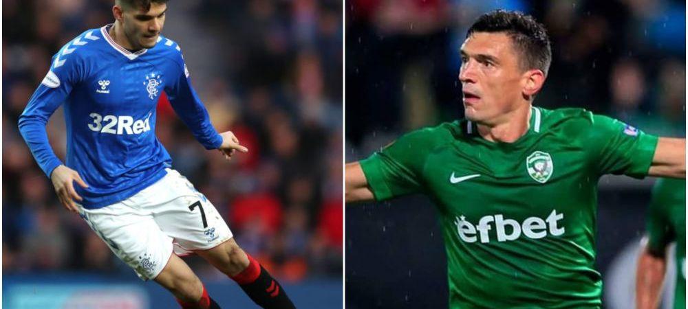 SEARA ROMANILOR! Cu Dragos Grigore in teren, Ludogorets pierde cu 2-0 in fata lui Inter | Ianis Hagi e titular in: Rangers - Braga 0-1