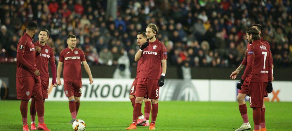 "CFR Cluj crede in calificare pana la capat! Burca: ""Mergem acolo sa facem o minune!"""