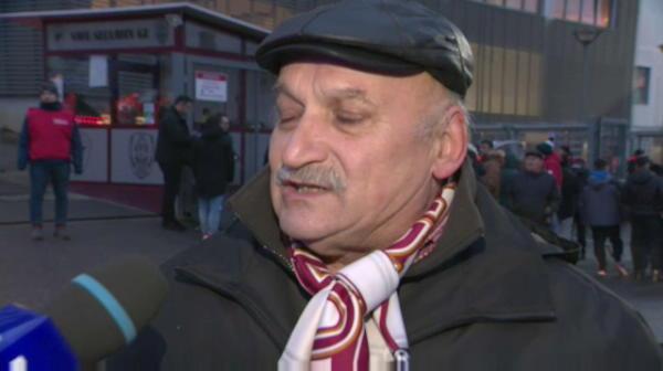 Omul care i-a purtat noroc lu'Petrescu la Urziceni a venit la Cluj! A mers mii de kilometri dupa Unirea. Ce reactie au avut clujenii cand l-au vazut
