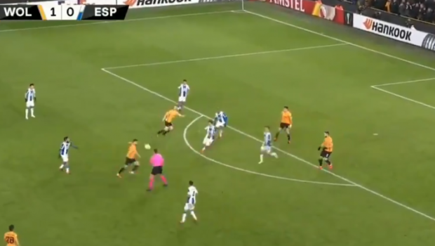 CATAPULTA! Golul serii in Europa League! Cum a marcat Ruben Neves cu Espanyol