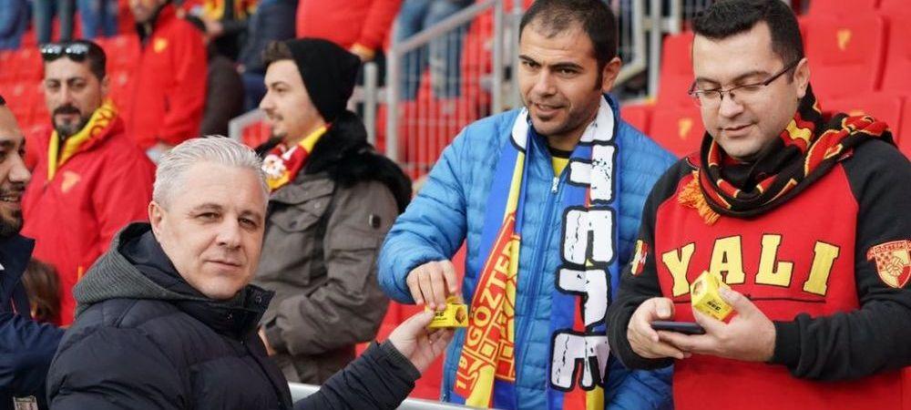 Sumudica, inca o NEBUNIE in Turcia! Gestul pe care nu l-a mai facut nimeni, niciodata, in fata fanilor adversi! Sumi le-a adus PRAJITURI fanilor gazda