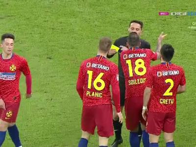 S-a TEMUT Coltescu de inca un gol al FCSB? :) NEBUNIE in prelungiri, stelistii au INNEBUNIT pe gazon: Coltescu a fluierat finalul cand Gnohere se pregatea sa traga!