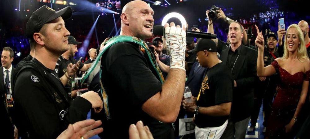 """Bye, Bye Miss American Pie!"" Reactia GENIALA a lui Tyson Fury dupa victoria IMENSA in fata lui Wilder! Britanicul a inceput sa cante"