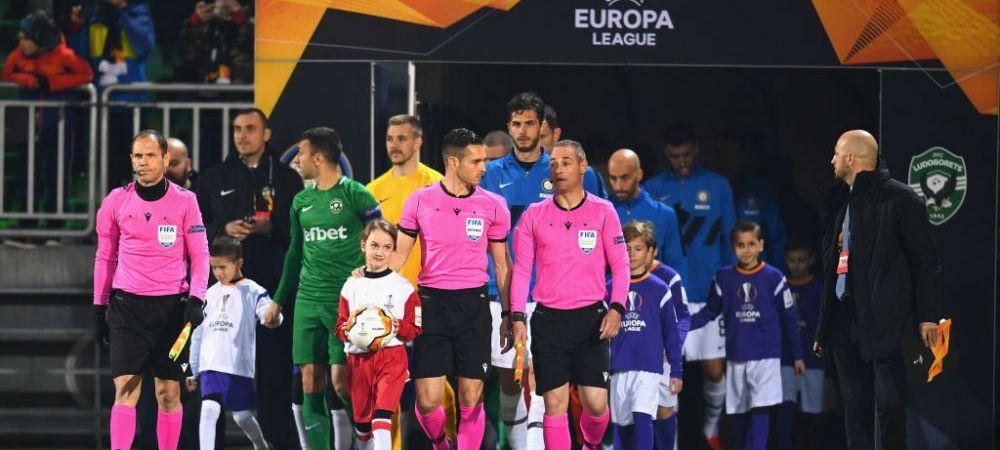 S-ar putea INCHIDE PORTILE in Europa League din cauza CORONAVIRUSULUI! Inter - Ludogorets s-ar putea juca fara suporteri
