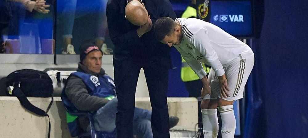 Veste DEZASTRUOASA pentru Real Madrid! Eden Hazard s-a RUPT din nou si va pierde meciul cu City si Barcelona! Cat va lipsi atacantul