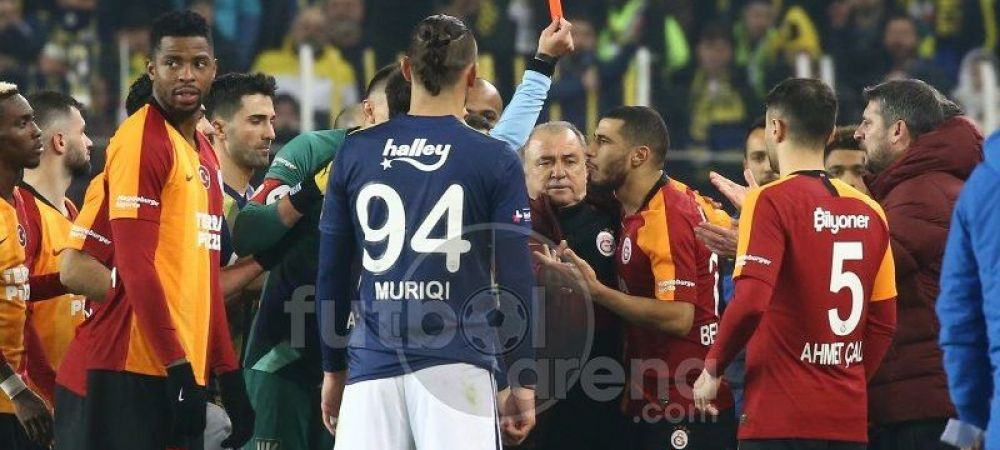 FOC in derby-ul din Istanbul!!! NEBUNIE pe strazi! Galatasaray a batut-o acasa pe Fenerbahce pentru prima data dupa 21 de ani! Ce s-a intamplat pe stadion