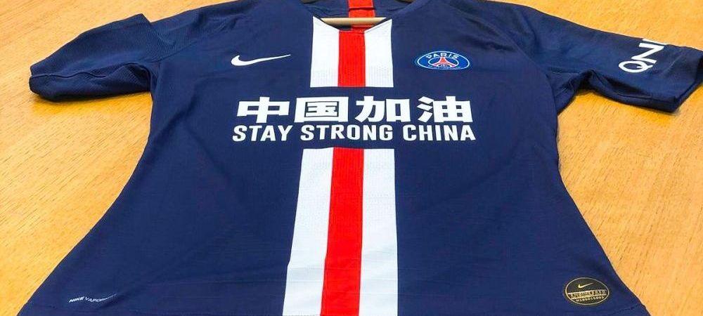 Gest superb pentru China! Ce tricou au purtat superstarurile lui PSG in meciul cu Bordeaux din Ligue 1