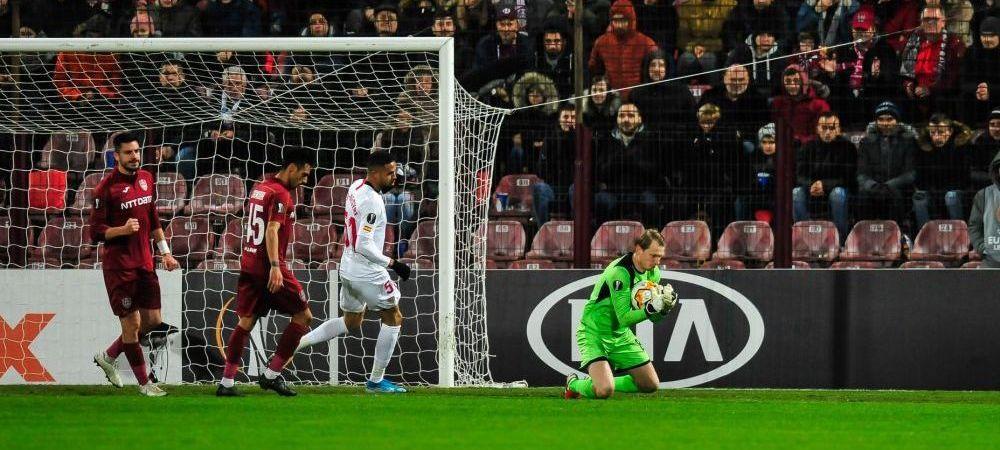 """Daca aveam noi fanii Craiovei, eram cu 13 puncte in fata!"" Arlauskis e ALL IN pentru meciul cu Sevilla: ""Simt ca putem trece, toti ne gandim numai la meciul asta"""