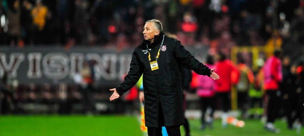 """""""Muncim ca prostii si pe urma ni le iau!"""" Prima reactie a lui Petrescu dupa ce a dus CFR-ul pe primul loc la startul play-off-ului! Ce spune de returul cu Sevilla"""