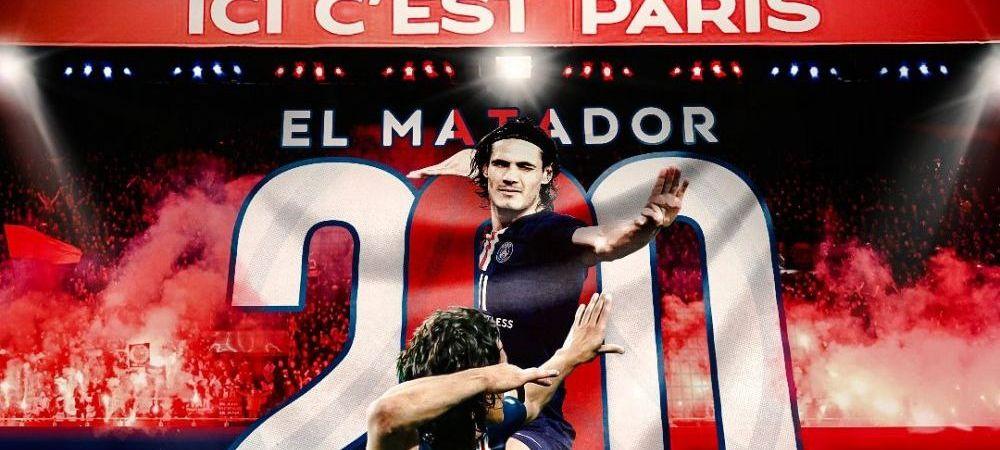 "Cavani scrie ISTORIE in tricoul lui PSG! Performanta URIASA reusita de ""El Matador"" in ultima etapa din Ligue 1"