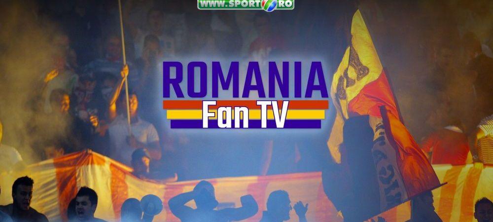 FAN TV Romania: CREAT de fani, pentru fani! Conceptul care te duce PE STADION si vrea sa te asculte: exclusiv pe www.sport.ro