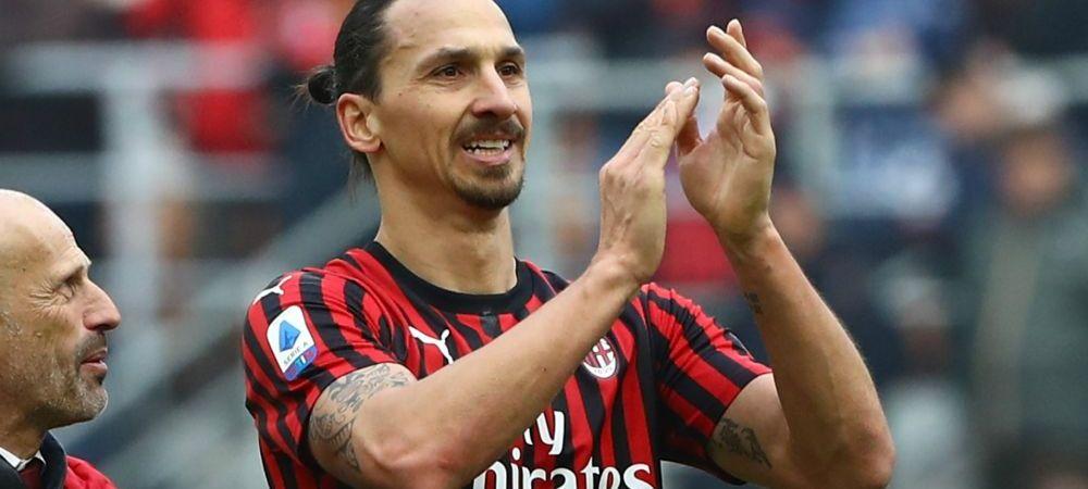 Conducerea lui AC Milan a facut anuntul despre viitorul lui Zlatan! Ce se va intampla cu fotbalistul in vara