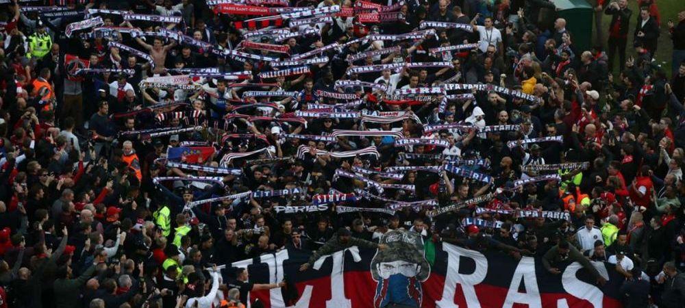 Mbappe si Neymar, criticati dur de suporterii lui PSG! Ce banner au afisat fanii la ultimul meci din Ligue 1