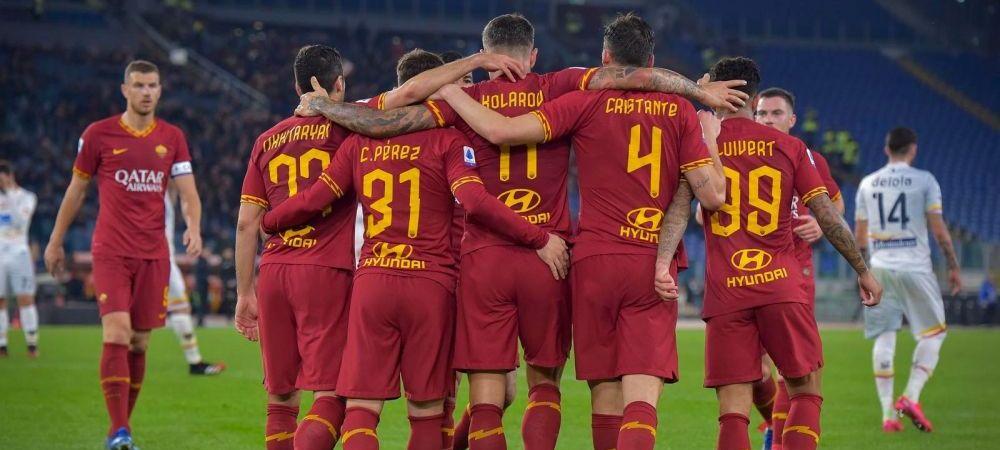 Romanul care a semnat AZI cu AS Roma! A primit numarul 9 si clubul are asteptari uriase de la el