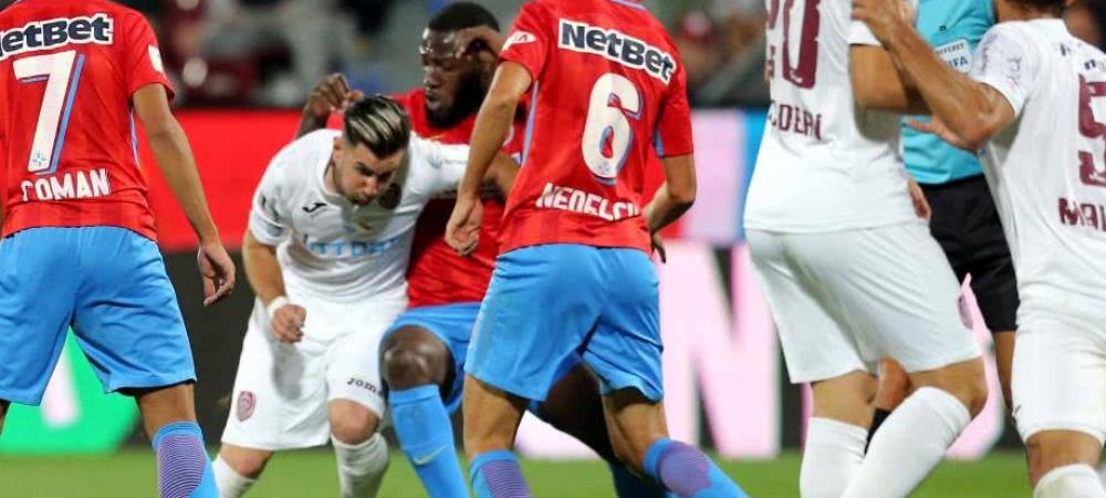 Programul complet al play-off-ului Ligii 1! Cand se joaca derby-ul FCSB - CFR Cluj! Utlima etapa se poate juca cu titlul pe masa