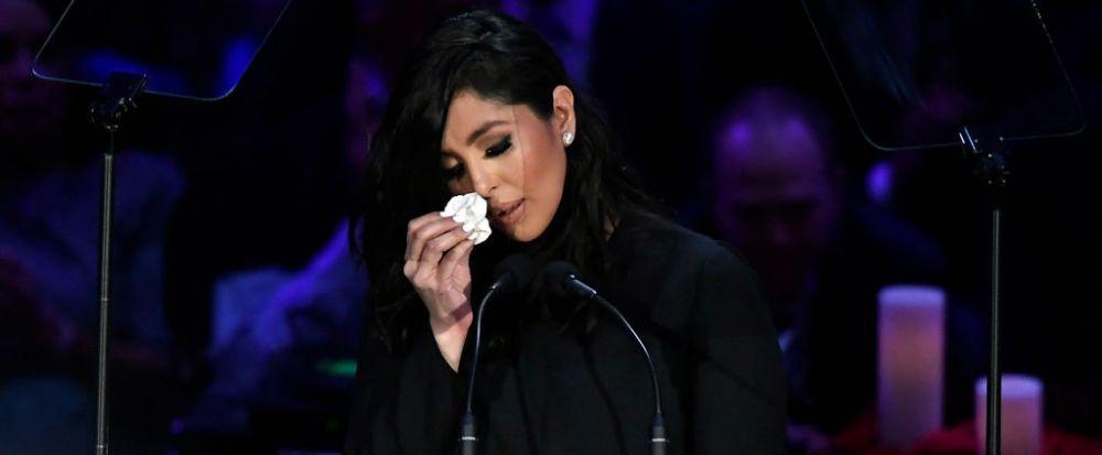 """Nu am putut sa il vad niciodata ca pe o vedeta!"" Discurs CUTREMURATOR al Vanessei Bryant la ceremonia de comemorare a lui Kobe! Ce a spus si pe cine vede vinovat de tragicul accident"