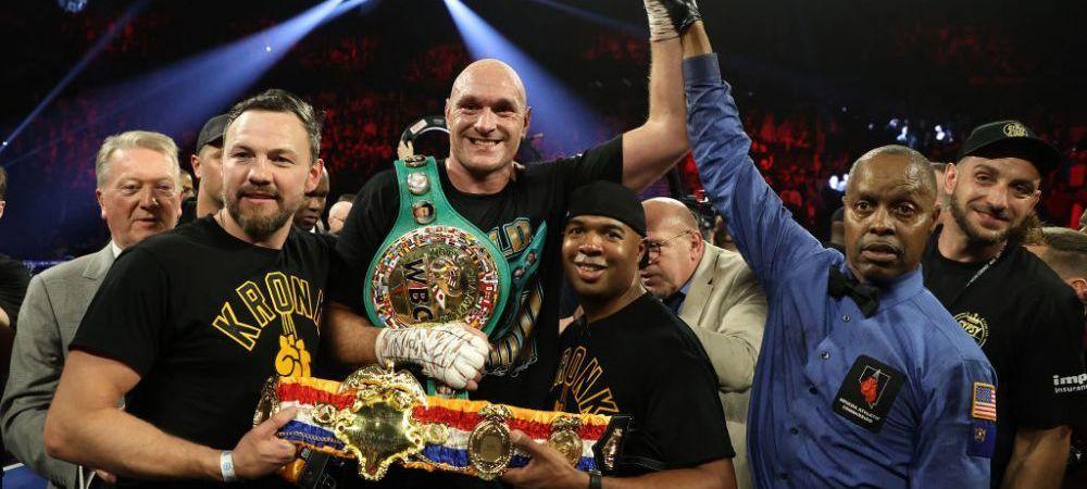 """Lupta de JUMATATE DE MILIARD de euro care va zgudui lumea boxului! Tyson Fury este gata sa bata din nou: """"Meciul se va desfasura acolo unde vor fi banii!"""""""