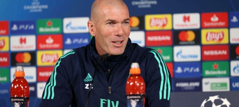 """""""Este cel mai bun antrenor din lume!"""" Zinedine Zidane se INCLINA in fata adversarului sau din Champions League! Ce spune despre asteptatul duel cu Guardiola"""