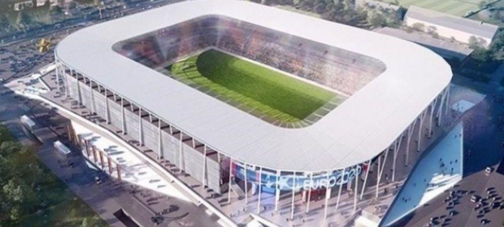 Lucrarile la stadionul Ghencea avanseaza in ritm alert, iar gazonul e gata sa fie montat! Cum arata interiorul arenei