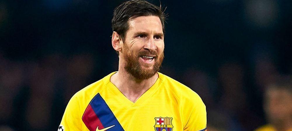 Messi a intrat in istoria Champions League! Ce performanta a reusit starul argentinian dupa meciul cu Napoli din Champions League