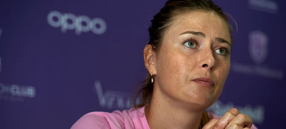 Maria Sharapova a anuntat ca se retrage definitiv din tenis!