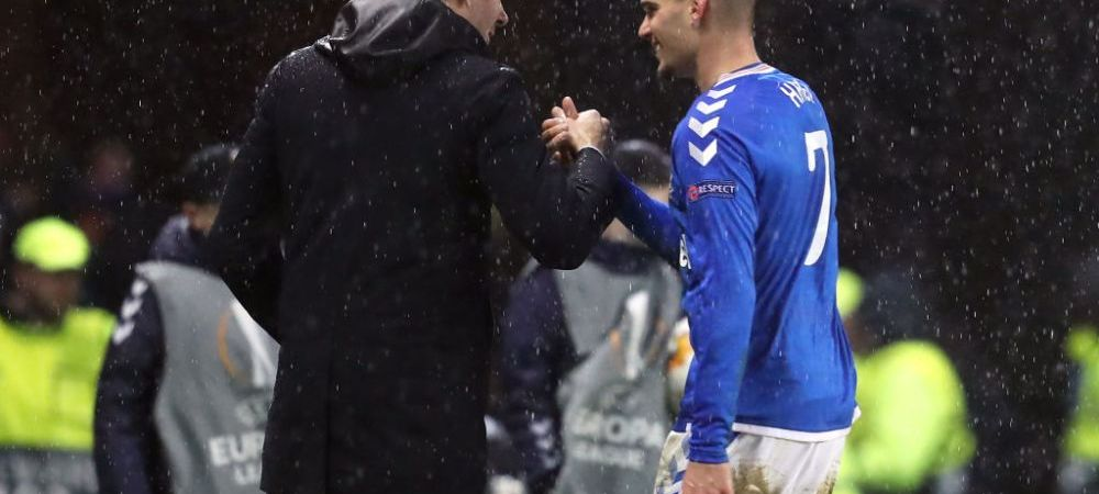 """""""Pe urmatorul il bat eu!"""" :) Reactia de MILIOANE a lui Steven Gerrard dupa penalty-ul RATAT de Ianis Hagi"""