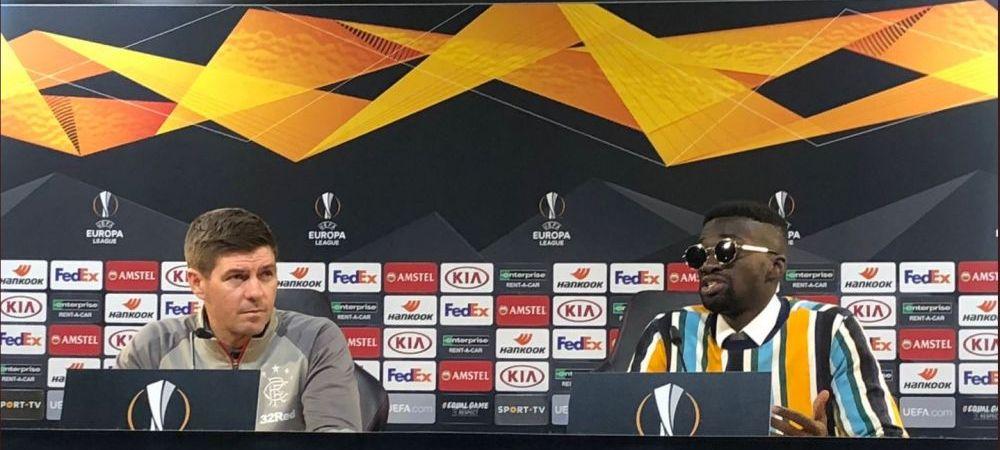 Rupe din NOU netul dupa meciul lui Ianis Hagi! Translatorul lui Gerrard loveste inca o data si e acum vedeta in toata lumea! Cum a venit la conferinta