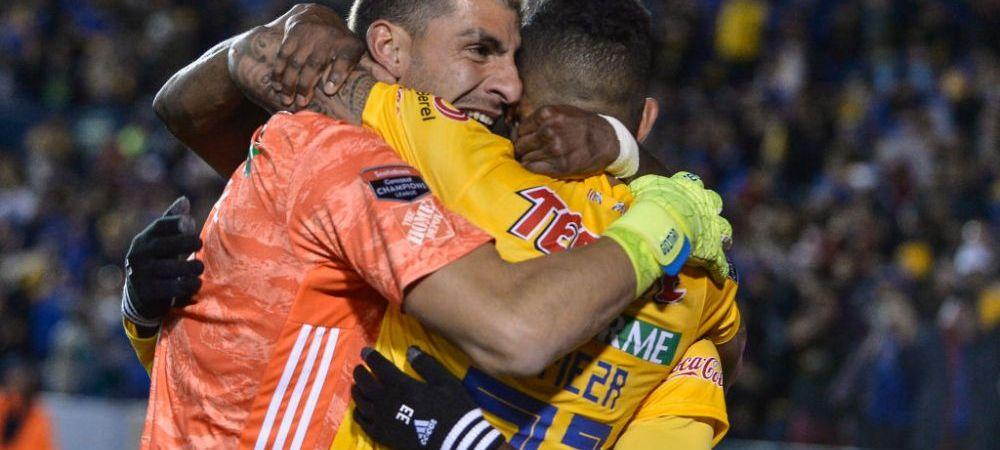 NEBUNIE in Mexic! Portarul lui Tigres a inscris golul victoriei in ultima SECUNDA si a calificat echipa in sferturile Ligii Campionilor Americii de Nord