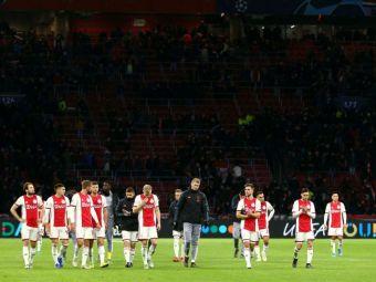 Scene SOCANTE pe Stadionul Johan Cruyff! Fanii lui Ajax au aruncat cu bere pe sotiile si copiii jucatorilor lui Getafe