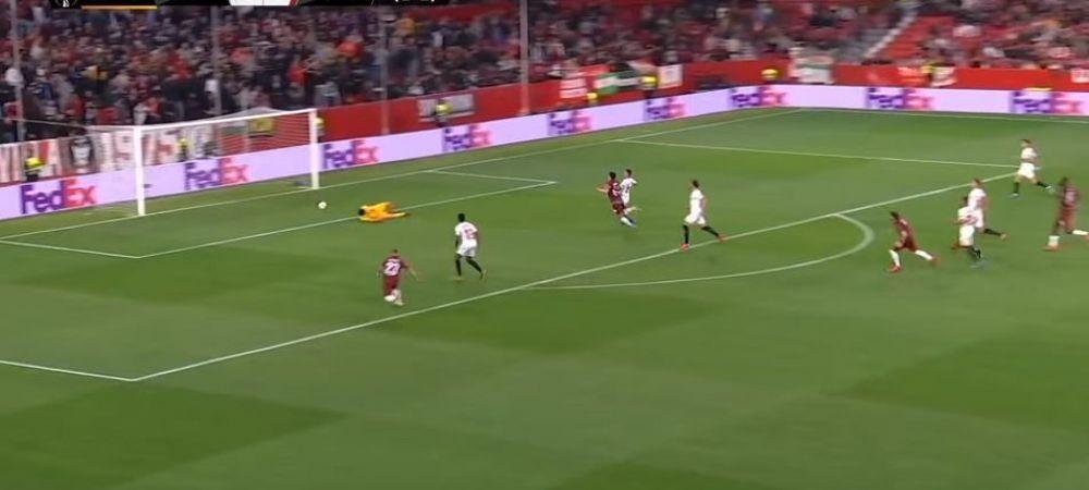 """""""M-am deconectat!"""" Explicatia RIDICOLA a portarului Sevillei pentru golul incasat! Ce spune despre GAFA URIASA"""