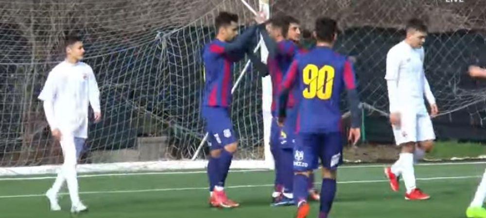 Ca in curtea scolii! Steaua a batut pe Dinamo la un scor incredibil! Cat s-a terminat partida din Liga 4