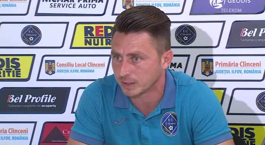 "Clinceni castiga 3 puncte uriase in lupta din play-out! Poenaru stie cum a reusit s-o invinga pe Dinamo: ""M-am saturat de atatea egaluri! Am gandit-o si mi-a iesit"""