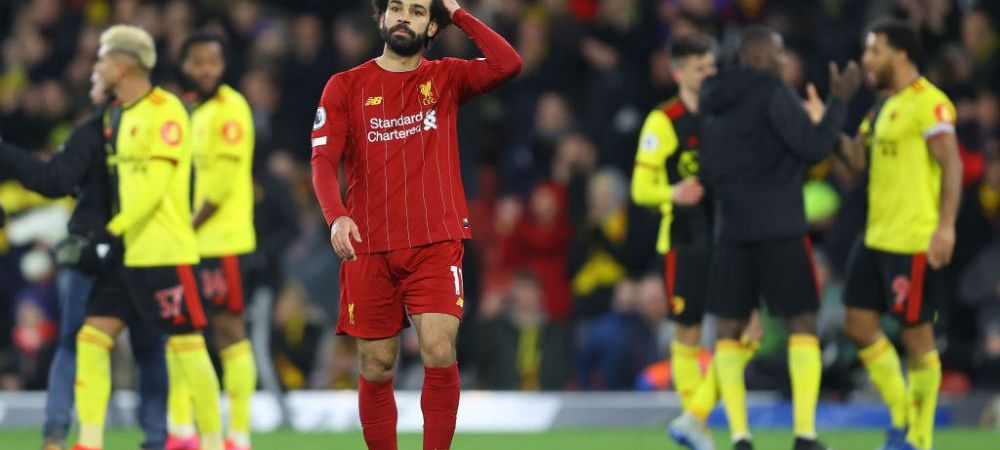 "SOC in Premier League! Watford, penultima clasata, castiga cu Liverpool si intrerupe seria invincibila a ""cormoranilor""! De cand nu mai pierdusera"