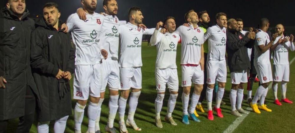 HERMANNSTADT - CHINDIA 1-0   Echipa lui Miriuta obtine primul succes in play-out si urca pe locul 4