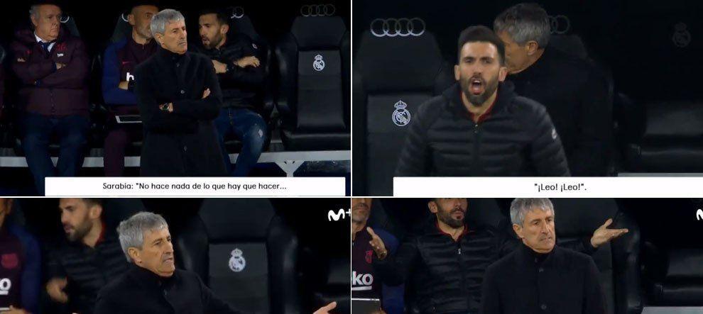 """Reactia SOCANTA a secundului de la Barcelona in timpul El Clasico! Imaginile care nu au fost vazute pana ACUM: """"Ma c*c in c***a de mama!"""""""