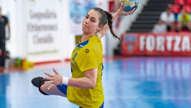 Noua senzatie din handbalul feminin romanesc are 16 ani si inscrie goluri pe banda rulanta