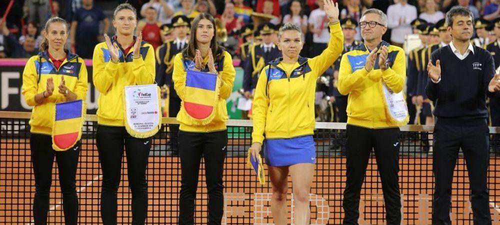 FRT a anuntat unde se vor disputa meciurile de Fed Cup cu Italia! Fetele merg din nou la Cluj