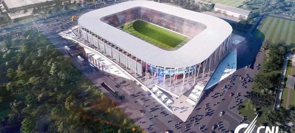 Stadionul din Giulesti, aproape finalizat! A inceput montarea gazonului pe stadionul lui Rapid! CNI a publicat imagini