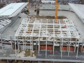 Stadionul Ghencea, tot mai aproape de finalizare!Ultimele imagini cu arena de 95 de milioane de euro