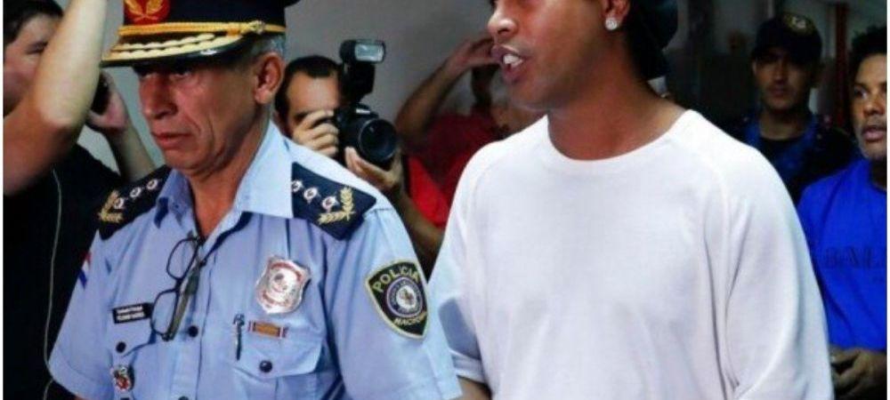 Judecatorii din Paraguay i-au refuzat lui Ronaldinho eliberarea pe cautiune. El ramane dupa gratii, desi oferise 1.5 milioane de euro