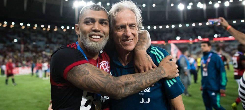 Jorge Jesus, antrenorul lui Flamengo, pozitiv la coronavirus! Anunt-soc in Brazilia
