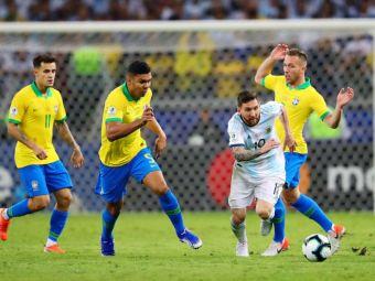 """""""Il lovim pe rand, prin rotatie!"""" Dezvaluiri din vestiarul Braziliei! Tactica """"murdara"""" folosita pentru a-l opri pe Leo Messi"""