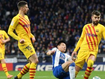 Un jucator chinez din La Liga are coronavirus! I-a marcat Barcelonei in derby-ul din acest an, iar acum a fost testat pozitiv